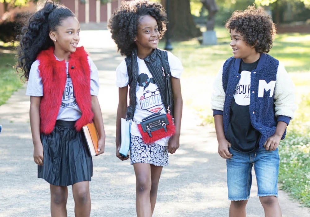 black kids clothing store